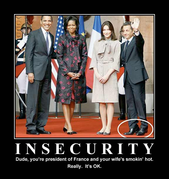Sarkozy Insecurity